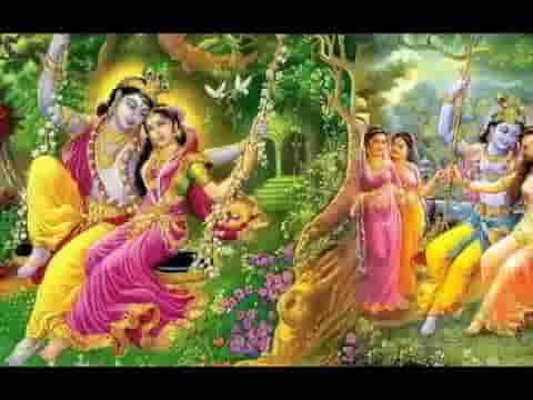 कान्हा रे बागा में झूला घाल्या रे भजन लिरिक्स