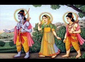 राम सीता और लखन वन जा रहे भजन लिरिक्स